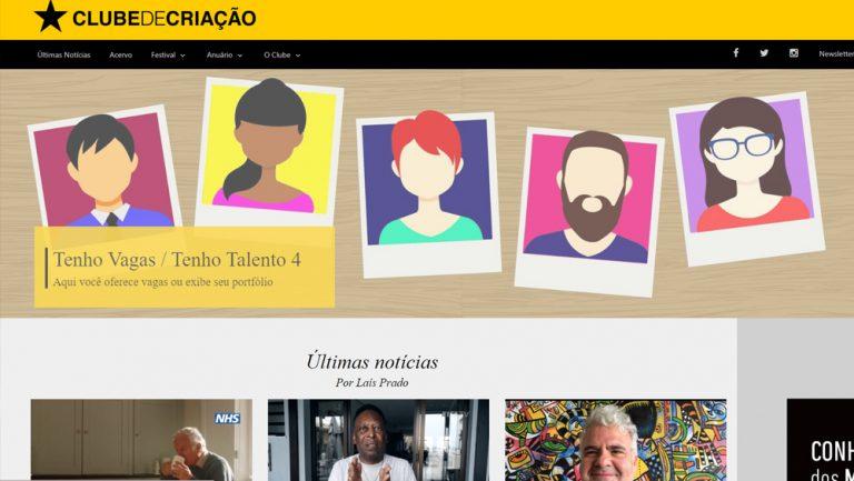 Novo site – Clubeonline de cara nova