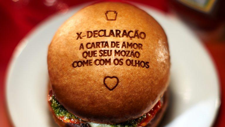 X-Declaração: para o Dia dos Namorados, Heinz incentiva declarações de amor em hambúrguer
