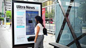 Empresa Transforma Abrigo de Ônibus em Impressora